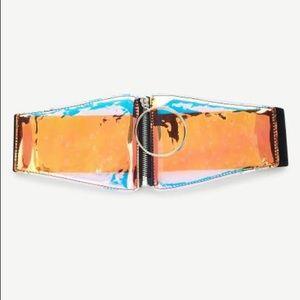 Accessories - Iridescent Belt 🦄 final sale ❣️
